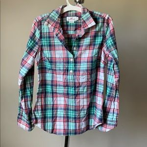 Plaid Girls Shirt